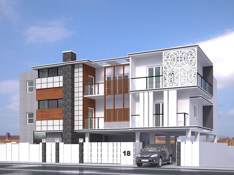 Apartment exterior design ideas astana apartments for 2 bedroom apartment exterior design